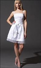 Jessica McClintock 32704 White Dress