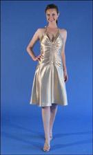 Jessica McClintock 52844 Gold Dress
