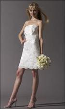 Jessica McClintock 54224 White Dress