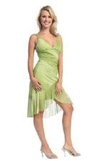 JN 1005 Green Dress