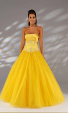 Joli 9027 Yellow Dress