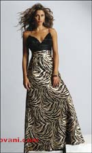 Jovani 10962 Animal Print Dress
