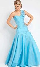 Jovani 153510 Blue Dress
