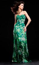 Jovani 153731 Green Dress