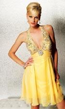 Jovani 1552105 Yellow Dress
