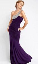 Jovani 158004 Purple Dress