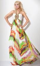Jovani 7226 White/Multi Dress