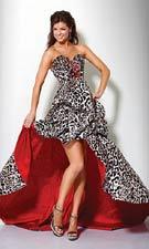 Jovani 7455 Print Dress