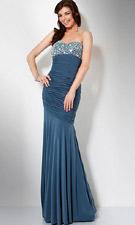 Jovani 7565 Grey Dress