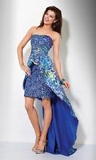 Jovani 7577 Blue/Mult Dress