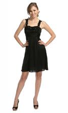 Kitty 3343 Black Dress