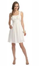 Kitty 3343 White Dress