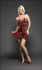 Kitty 4190 Red Dress