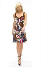 Kitty 4558 Brown Dress