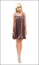 Kitty 4583 Brown Dress