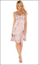 Kitty 4584 Pink Dress