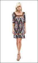 Kitty 4602 Brown Dress