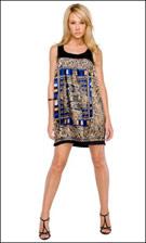 Kitty 4640 Blue Dress