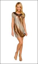 Kitty 4643 Brown Dress