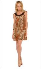 Kitty 4651 Rust Dress