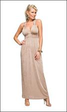 Kitty 4696 Taupe Dress