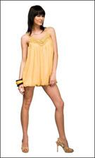 Kitty 4705 Yellow Dress