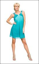 Kitty 4745 Aqua Dress