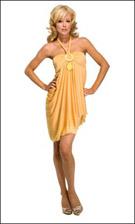 Kitty 4751 Yellow Dress