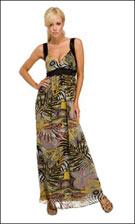 Kitty 4758 Jungle Print Dress