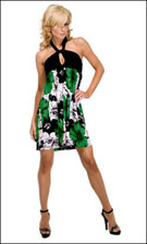 Kitty 4759 Green Dress