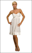 Kitty 4761 Ivory Dress