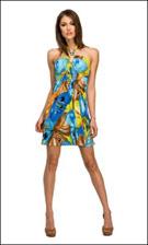 Kitty 4767 Blue Dress