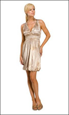 Kitty 4771 Taupe Dress