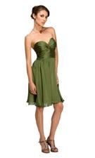 Kitty C-1070 Olive Dress