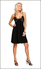 Kitty C1044 Black Dress
