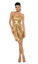 Kitty C1080 Gold Dress