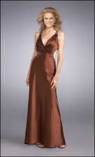 La Femme 13362 Brown Dress