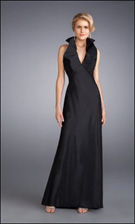 La Femme 13462 Black Dress