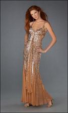 La Femme 13638 Cafe Dress