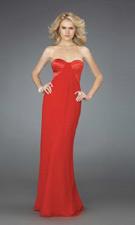 La Femme 14589 Red Dress