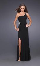 La Femme 14851 Black Dress