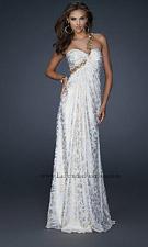 La Femme 17805 White Dress