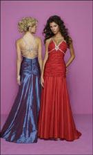 Mori Lee 7020 Blue/Red Dress