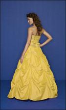 Mori Lee 7042 Yellow Dress