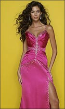 Mori Lee 7261 Fushsia Dress