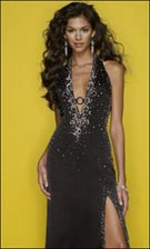 Mori Lee 7270 Black Dress