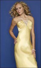 Mori Lee 7277 Yellow Dress