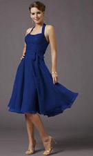 Mori Lee 732 Blue Dress