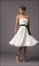 Mori Lee 735 White Dress