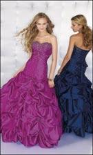 Mori Lee 8105 Fuchsia/Blue Dress